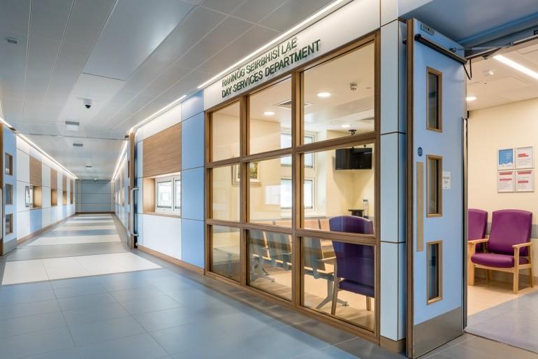 Medical Assessment Unit & Day Services Building, Midlands Regional Hospital, Portlaoise
